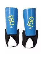 Adidas Performance F50 Youth Shin Guards Blue Soccer Football Small Junior