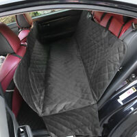 Black Car Truck SUV Dog Pet Back Rear Trunk Mat Seat Cover Blanket Waterproof