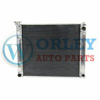 3 rows aluminum radiator for Nissan Fairlady 300zx z32 Twin Turbo TT Automatic