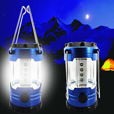 Ultra Bright 12 LEDs Hiking Camping Lantern Outdoor Fishing Tent Lights Lamps US
