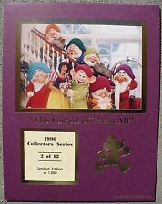 CAST MEMBER EXC.1996 COLLECTOR'S SERIES SNOW WHITE LE PHOTO GRAND FLORIDIAN
