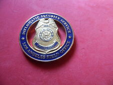 Diplomatic Security Service Los Angeles Field Office Challenge Coin