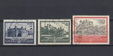 DR, Generalgouvernement, besetzung, 1941, Mi.63-65, used
