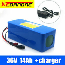 Ebike Battery 36V 14AH Lithium ion Battery with Charger, for 500w Electric Bike