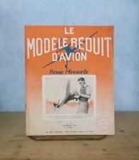 AEROMODELISME AVIATION MODELE REDUIT D'AVION N° 115 SEPT. 1948 PLANEUR SARCELLE