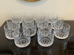Orrefors Elisabeth Short Tumbler Glasses Set of 14