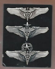 OLD 3 IN FLIGHT SURGEON SET OF 3 WING HARD TO FIND