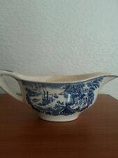 Vintage Sauce or Gravy Boat Historic America Johnson Bros Low Water Mississippi