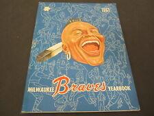 1962 Vintage Milwaukee Braves Color Vintage Year Book Yearbook Hank Aaron