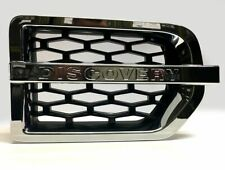 Discovery 3 2004>09 Supercharged Look Chrome + Black 3D Mesh Side Vent-RE9018