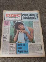 Disc - October 3 1970 Freda Payne cover (Jack Bruce/Deep Purple/Blodwyn Pig)
