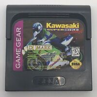 Kawasaki Superbike Challenge Sega Game Gear GG Authentic Works Cartridge Only