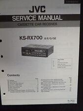 Original Service Manual JVC ks-rx700