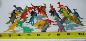 Huge Lot Toy Dinosaur Miniature Lot PVC Plastic Action Figures 37 assorted