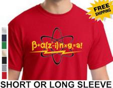 Funny Big Bang Theory Bazinga Sheldon Cooper Mens Short Or Long Sleeve T-Shirt