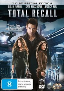 DVD TOTAL RECALL COLIN FARRELL 2 DISC SPECIAL EDIT BRAND NEW UNSEALED FAST POST