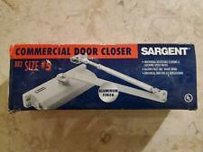 Sargent Commercial Door Closer B82 Size 5 Aluminum Finish Nos