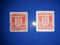 Guernsey 1941 No. 2, German Occupation, Third Reich, Used & MNG. Free UK P&P.