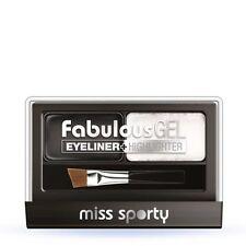 Miss Sporty Fabulous Gel Eyeliner Highlighter 001 black and white