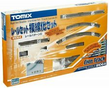 TOMIX N Scale rail set double track set D pattern 91064 railroad model rai 49048