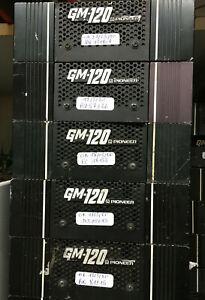 PIONEER GM120 Vintage Component AMPLI  60+60w