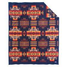 Authentic Pendleton Chief Joseph Robe Blanket - Indigo Twin
