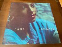 Sade~Promise~VG++ INNER SLEEVE~R&B Soul Funk Smooth Groove~1985 Portait