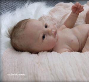 TINKERBELL NURSERY Helen Jalland Reborn newborn baby doll girl 'Meadow' Arcello