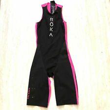 Roka Women's Viper Pro Swimskin Triathlon Size XS Black Magenta NEW $255