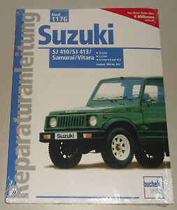 Manual de Reparaciones Suzuki Sj 410 / Sj 413 / Samurai/Vitara, Bj. 1984-1995