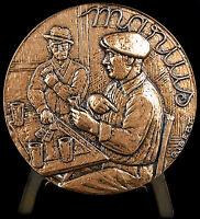 Medal Jules Muraire Dit Raimu Actor in Marius Marcel Pagnol. Actor Medal