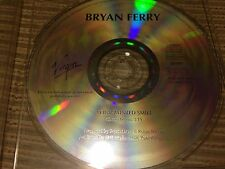 BRYAN FERRY ROXY MUSIC SPANISH CD SINGLE SPAIN 1 TRACK VIRGIN 94 YOUR PAINTED