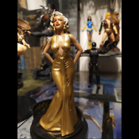 "Marilyn Monroe Blondes Figure 7"" In  PVC Sculpture Beauty Collection Toy Statue"