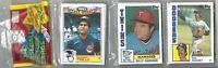 1984 84 Topps Unopened Vintage Baseball Rack Pack 54 Cards - Get a PSA 10 Card!