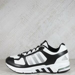 Junior Adidas Equipment 10 Warm White/Black/Silver Trainers (62C22) RRP £79.99
