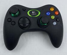 Official Logitech Wireless Original Xbox Controller NO Receiver CLEAN
