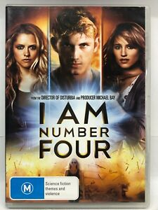 I Am Number Four - DVD - AusPost with Tracking
