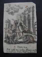 Heiligenbild  S. THEKLA  - holy card , santino , image pieuse   (#OH59#)