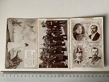 Leporello ca. 1915 Cartes Patriotiques Frankreich France