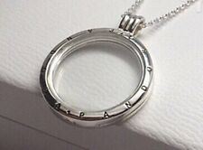 Genuine Pandora Sterling Silver Large Floating Locket Necklace w box 590530-75