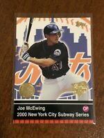 2000 World Series Topps Baseball Base Card #15 - Joe McEwing - New York Mets