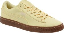 NEW Puma Ripstop Basket Sneakers Size 8 Mens 9.5 Womans Ice Cream Yellow