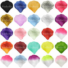 500~5000 Silk Rose Petals Artificial Flowers Wedding Party Bridal Confetti Decor