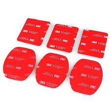 6pcs 3M stickers for GOPRO HERO 6 5 4 3+ 3/5 4 session/xiaomi yi/sj