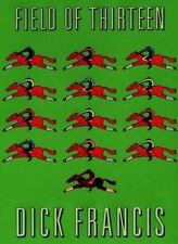 Field of Thirteen by Dick Francis (1998, Hardcover) (Large Print)