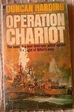 OPERATION CHARIOT, Duncan Harding (Leo Kessler), UK pb 1977