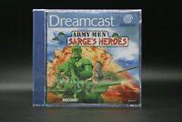 Sega Dreamcast Army Men Sarges Heroes ( DC ) Sealed Neu Eingeschweißt Top RAR !!
