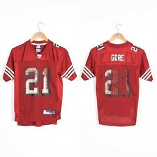 KIDS BOYS YOUTHS NFL JERSEY SAN FRANCISCO 49ERS SHIRT #21 GORE 10 - 12 YEARS