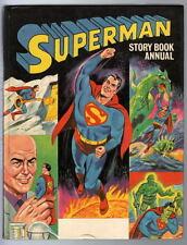 SUPERMAN STORY BOOK ANNUAL 1968 British Annual Squarebound RARE