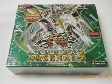 YuGiOh Hidden Arsenal 3 5Ds booster box 1st Edition Sealed New English